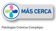 Logotipo Programa Más Cerca para Patologías Crónicas Complejas